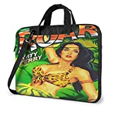 Katy Perry Roar Laptop Bag Briefcase, Expandable Computer Shoulder Messenger Bag, Waterproof Carrying case, Men and Women can Carry, Business Travel College 15.6 inch