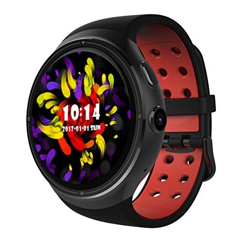 Diggro DI06 Sia Lo Smartwatch Sia Lo Smartphone, Supporto Nano SIM Card, Android 5.1 Quad Core RAM/Rom 1GB+16GB