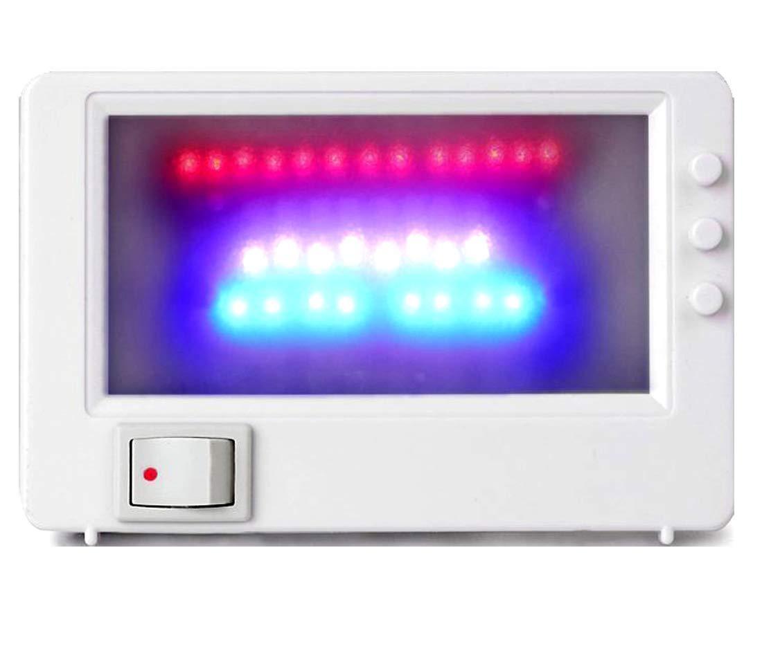 Simulador de televisión LED M&H-24, falso televisor, protección antirrobos mediante luz de simulación, seguridad del hogar, con 37 LED: Amazon.es: Iluminación
