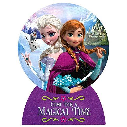 Amazon Com Disney Frozen Invitations Pack Of 8 Party Supply