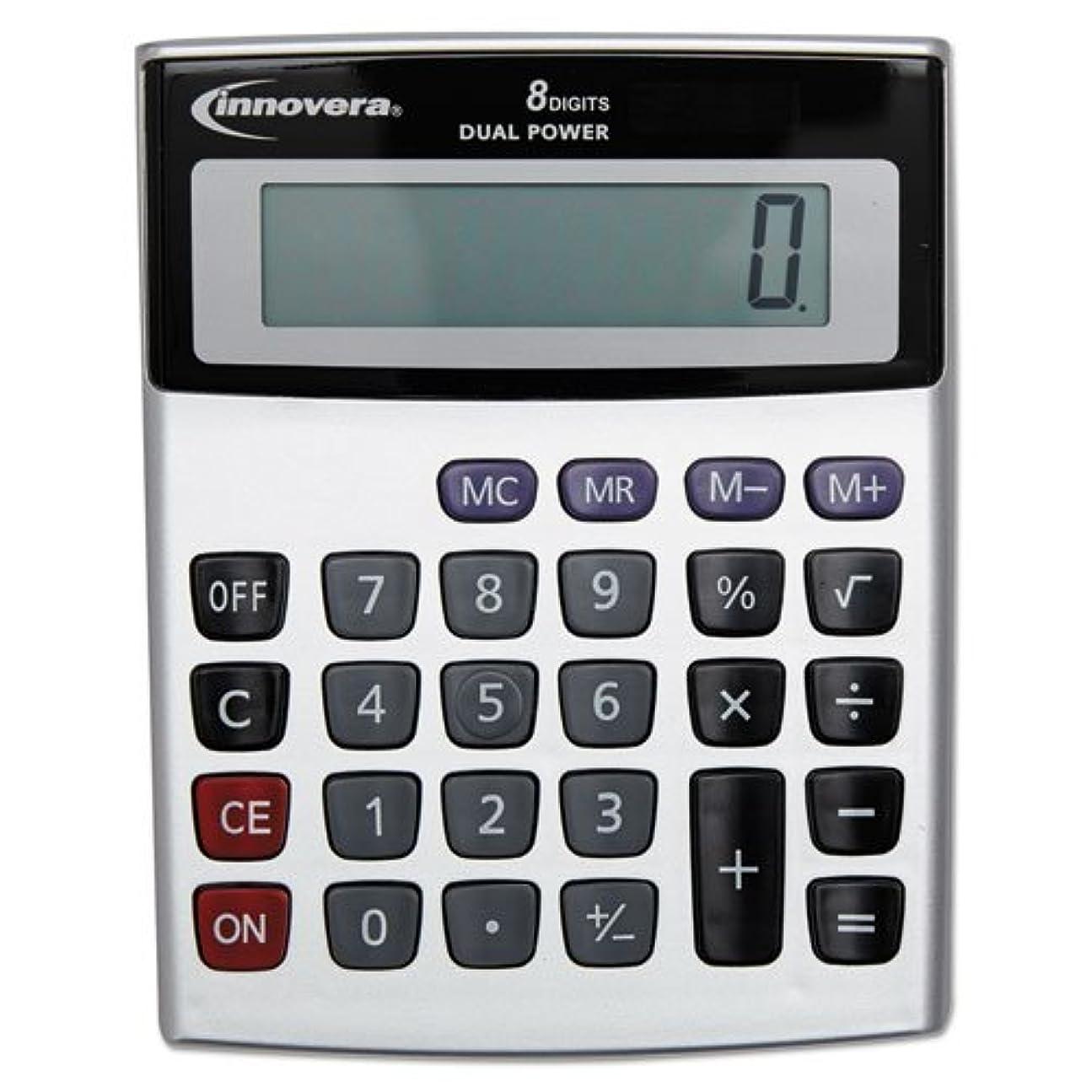 応答してはいけない指令INNOVERA 15927 Portable Minidesk Calculator, 8-Digit LCD