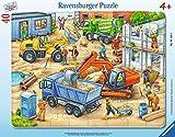 RAVENSBURGER PUZZLE 06120 & nbsp; Veicoli di Grandi Dimensioni Costruzione, Frame Puzzle 4...