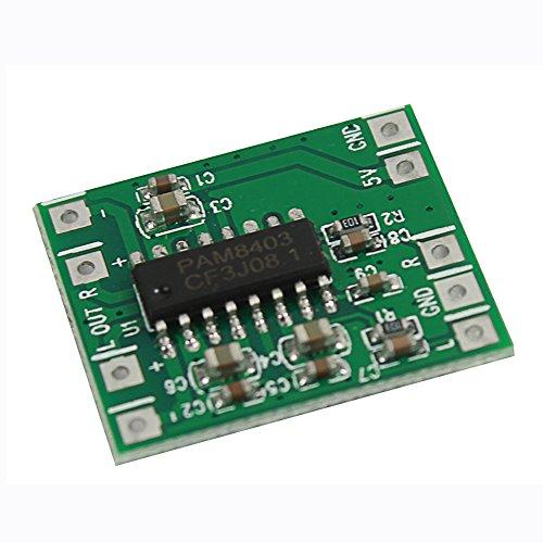 Dosige PAM8403 Audio Modul USB DC 5V Class D Digital Verstärker Amplifier Board LCD für Arduino Raspberry Pi