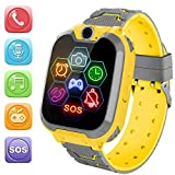 SW1 Kids Smart Watch (Yellow)