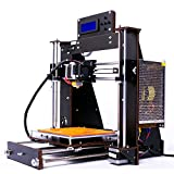 Impresora 3D, Win tinten i3 Alta precisión Unassembled Desktop Impresora 3D sin...