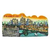 Fráncfort Alemania Alemania Pintado a mano Imán de resina Recuerdo Puerta de Brandemburgo Berlín...