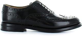 CHURCH'S Luxury Fashion Womens DE00019XVF0AAB Black Lace-Up Shoes | Fall Winter 19