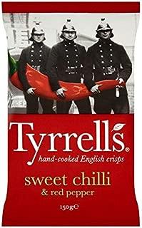 Tyrrells Sweet Chilli & Red Pepper Crisps - 150g