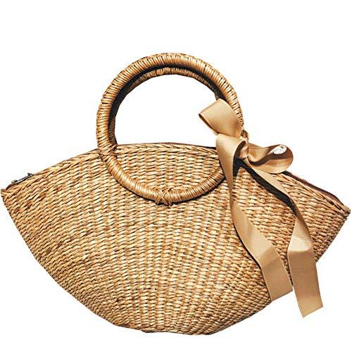Thumby dames handtassen kruiszakken strotassen maanzakken stoffen tassen dames strandtassen vakantie 38 x 20 x 13 cm draagbaar 15 cm