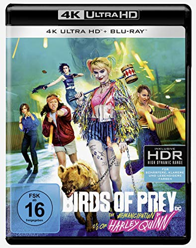 Birds of Prey - The Emancipation of Harley Quinn (4K Ultra HD) (+ Blu-ray 2D)