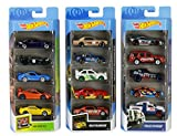 Hot Wheels American 5-Pack 1:64 Scale Die-Cast Cars Collectors of All Ages Premium Graphics Exclusive Great Gift Idea 3 Years and Older [Amazon Exclusive]