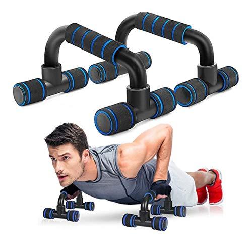 Suporte Flexão De Braço Fixo Barra Apoio Push Up Fit Pilates