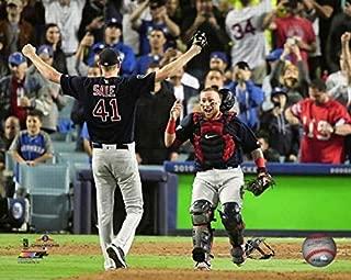 Chris Sale & Christian Vazquez Boston Red Sox 2018 MLB World Series Celebration Photo (Size: 8