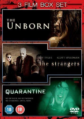 The Unborn / Quarantine / The Strangers [Import anglais]