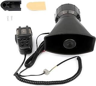 $26 » Sponsored Ad - 105 db Super Loud Car Alarm Horn 7 Tone Sound Security Alarm Car Horn for Train, Electric Snail Single Horn...