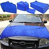 L-DiscountStore Mikrofaser-Auto-Reinigungstücher Auto-Trockentücher Hochsaugfähige Auto-Waschhandtücher 60 * 160 cm