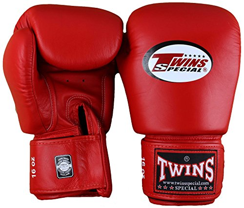 Twins Special Red Boxing Gloves 16oz