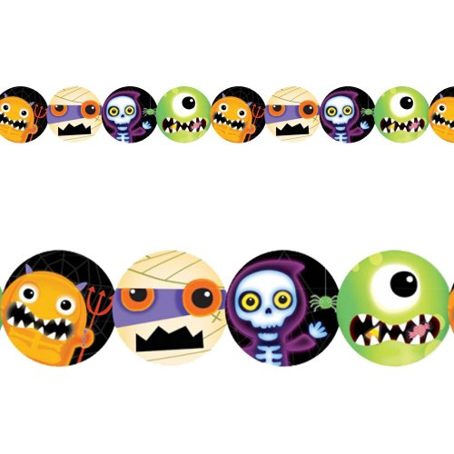 amscan International 227519 Boo Crew Guirlande Papier