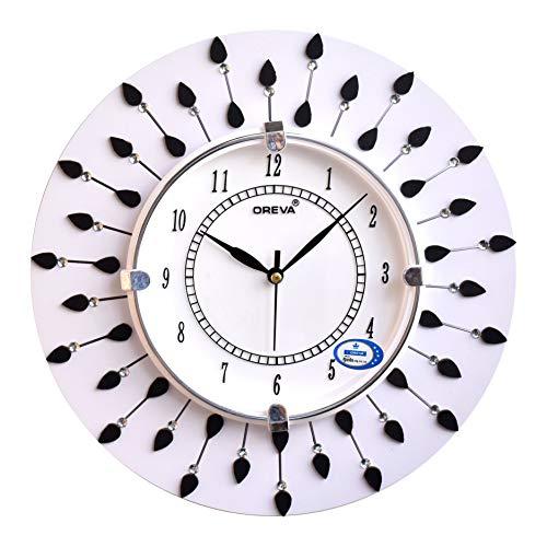 Generic Wood Analog Wall Clock (White)
