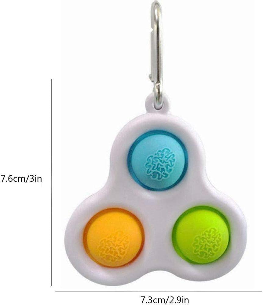Taymey Sensory Toys Simple Dimple Fidget Toys Mini Stress Reliever ...