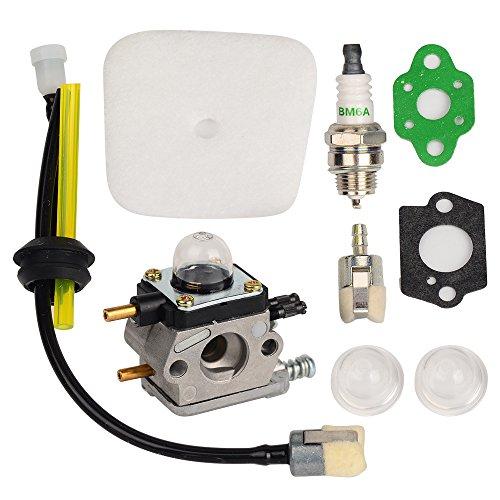 OuyFilters C1U-K54A Vergaser mit Luftfilterdichtung, Kraftstoff-Repower Kit für Echo 2 Cycle Mantis 7222 7222E 7222M 7225 7230 7234 7240 7920 7924 Gartenfräse
