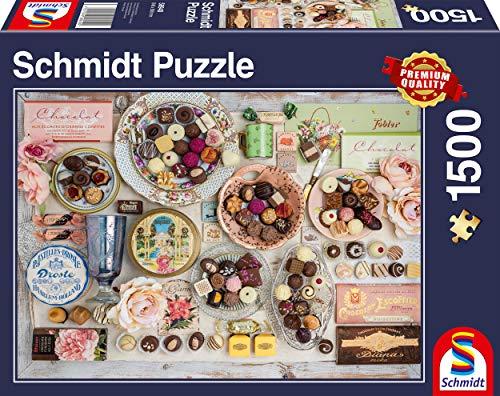 Schmidt Spiele Puzzle 58940 Nostalgie-Schokoladen, 1.500 Teile Puzzle, bunt