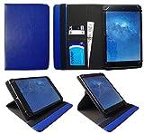 Odys Neo Quad 10 Zoll Tablet Blau Universal 360 Grad Drehung PU Leder Tasche Schutzhülle Hülle von Sweet Tech