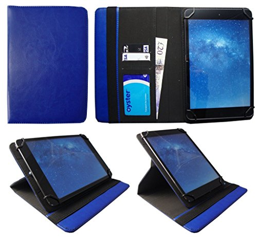 Odys Visio 10.1 Zoll Tablet Blau Universal 360 Grad Drehung PU Leder Tasche Schutzhülle Hülle von Sweet Tech