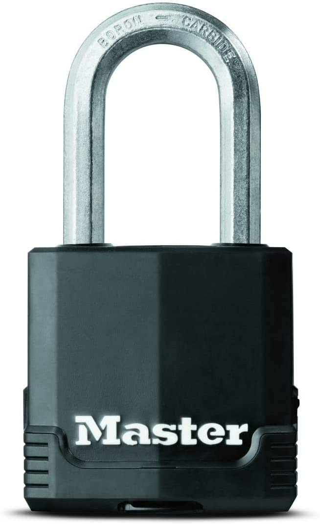 Magnum Covered Laminated Steel Lock 1-7//8 inches Wide