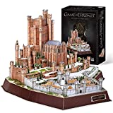 CubicFun Game of Thrones (Got) Puzzle 3D Winterfell Model Kit Regalo para Adultos y niños 8, Song of Ice and Fire, 430 Piezas