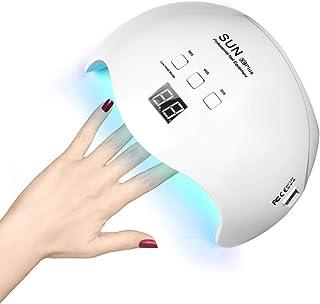 Nail Polish Curing Lamps, Nail Lamp 48W Led Lamp for Nails Nail Dryer Nail Gel Lamp 3Timer Setting, Nail Polish Dryer UV Lamps For Nails Gel UV Lamp for Fingernail & Toenail Curing Gel Nail Light