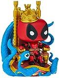 Funko Pop! Deluxe Marvel Heroes King Deadpool on Throne Standard
