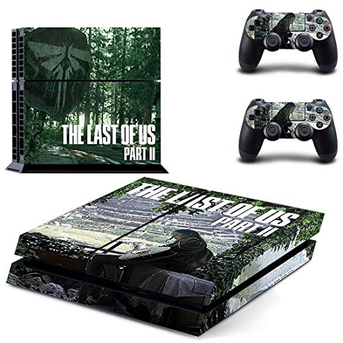 The Last Of Us 2 Decal Ps4 Skin Sticker For Playstation 4 Console Protection Film +2Pcs Controllers Cover