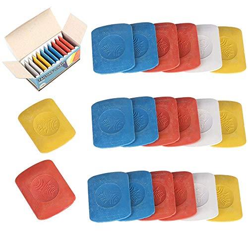 StyleBest Sastres profesionales Tri/ángulo de Tiza Marcadores de Tiza de sastre Costura de Tela de Tiza Herramienta de costura de bricolaje Accesorios de costura