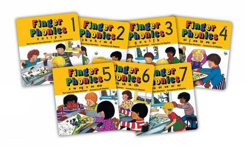 『Finger Phonics (7 Books in Series) (Books 1-7) by Sue Lloyd Sara Wernham(1994-01-01)』のトップ画像