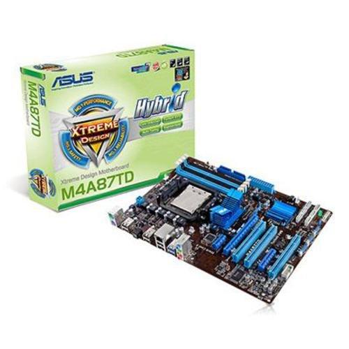 Asus M4A87TD Mainboard Sockel AMD AM3 870 4x DDR3 Speicher ATX