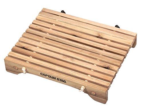 キャプテンスタッグ キャンプ バーベキュー用 机 テーブル CSクラシックス コンパクトロールテーブル 31×21cm