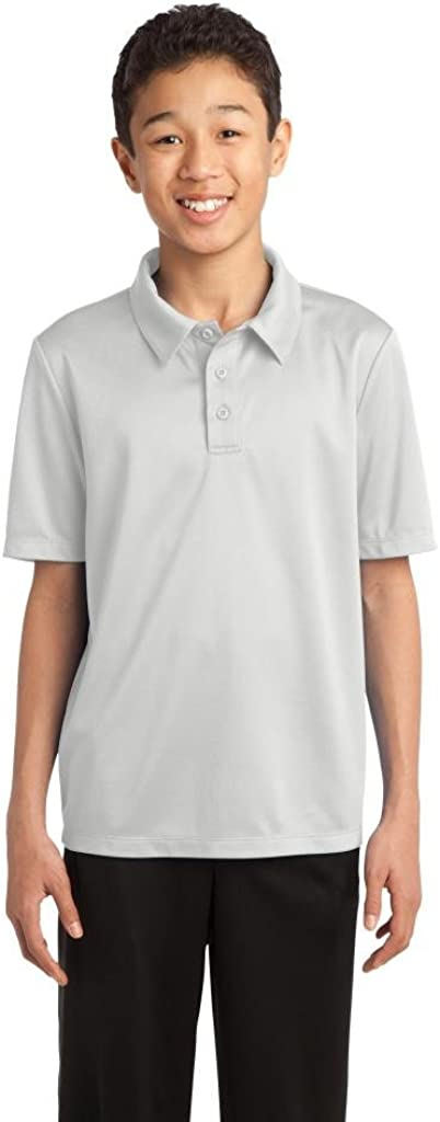 Port AuthorityYouth Silk Touch Performance Polo
