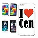 Reifen-Markt Hard Cover - Funda para teléfono móvil Compatible con Samsung Galaxy S4 Mini I Love Cen