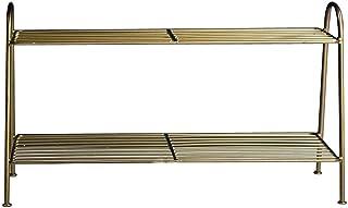 Range-Chaussures Nordic Shoe Rack | Grand Rangement pour Chaussures 2 étages en métal économique | Chaque Couche 3 Paires...