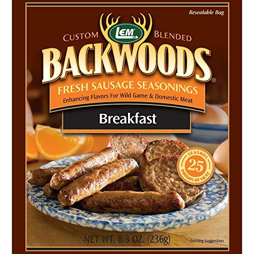 Backwoods colazione salsiccia fresca condimento