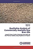 Qualitative Analysis of Commercially Available Rice Bran Oils: Using GC-Fame, Further Enhancing Their Shelf Life And Thermal Stability Using Polyphenols Of Ajwain