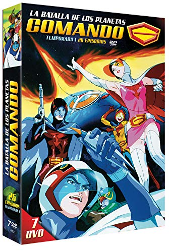 Comando G - La Batalla de los Planetas Serie Completa 7 DVDs 1978 Battle of the Planets (G-Force)