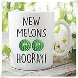 Funny Novelty Coffee Mug Boob Job Gift Boob Job Mug New Melons Breast Surgery Mug Mastectomy Funny Mug Rude Mug Joke Mugs For Her - 11oz Ceramic Coffee Mug Tea Cup, High Gloss (Null)
