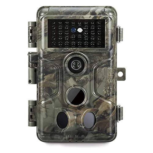 GardePro A3 Trail Camera (2020) 20MP 1080P H.264 Video Game Camera with Clear 100ft No Glow Infrared Night Vision 0.1S Motion Activated for Wildlife Deer Trail Hunting, Property Security