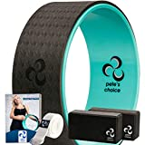 Kit Yoga per Principianti – Kit Yoga Wheel + 2 Yoga Blocks, con...