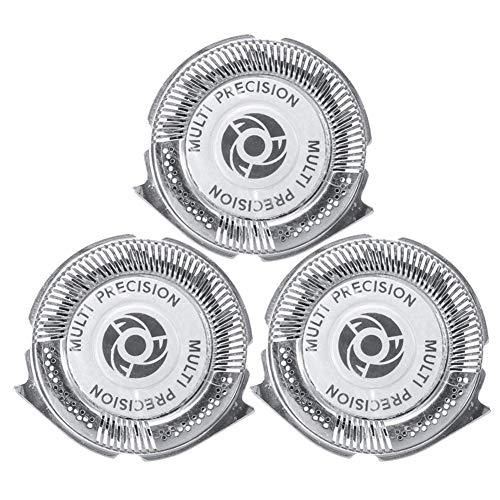 Precauti Testine di Ricambio 3PCS per rasatura Philips Testine di rasatura Serie 5000 Philips Testa di Ricambio per Rasoio Norelco (1 Pacco)