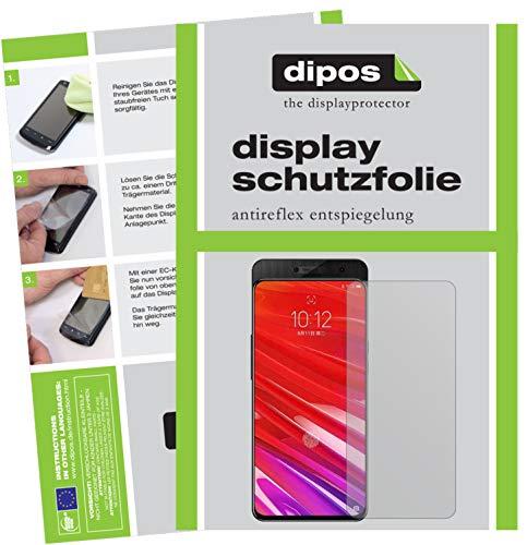dipos I 4X Schutzfolie matt kompatibel mit Lenovo Z5 Pro GT Folie Bildschirmschutzfolie (2X Vorderseite + 2X Rückseite)