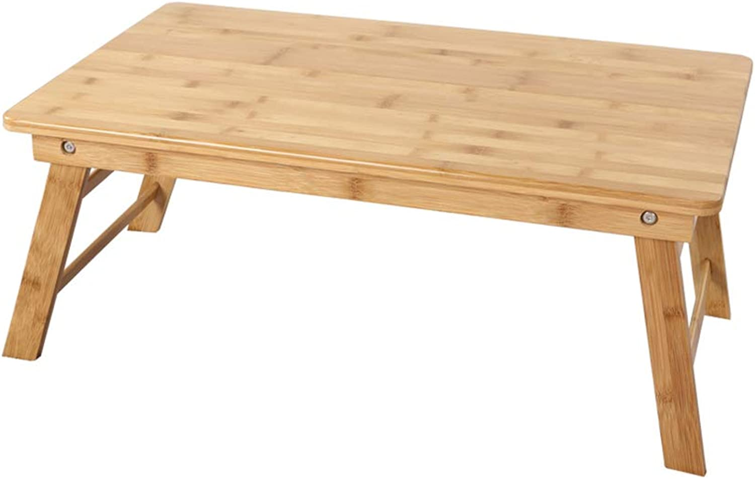 Folding Table Bamboo Lazy Folding Bed Small Desk Computer Table Dormitory Artifact (Size   55x31x20cm)