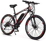 Bicicleta eléctrica Bicicleta eléctrica por la mon 26 '' Electric bicicleta de montaña, variable adultos velocidad Off-Road Poder de la bicicleta (36V8A / 10A) for adultos Ciudad De trayecto ciclo al